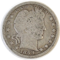 1899 USA Quarter Good (G-4)