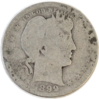 1899 USA Quarter Poor