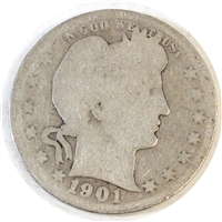 1901 USA Quarter Poor