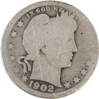 1902 USA Quarter Poor