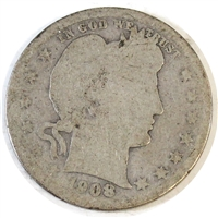 1908 USA Quarter Poor