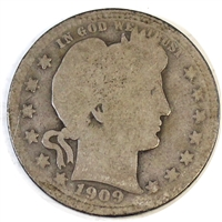 1909 S USA Quarter Poor