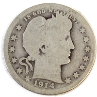 1914 USA Quarter About Good (AG-3)
