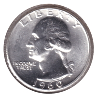 1960 USA Quarter Brilliant Uncirculated (MS-63)