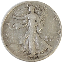 1935 USA Half Dollar VF-EF (VF-30)