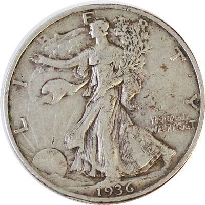 1936 USA Half Dollar VF-EF (VF-30)