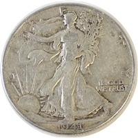 1941 D USA Half Dollar F-VF (F-15)