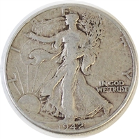 1942 USA Half Dollar F-VF (F-15)