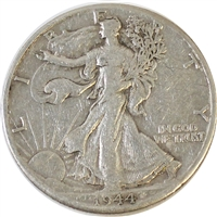 1944 D USA Half Dollar VF-EF (VF-30)