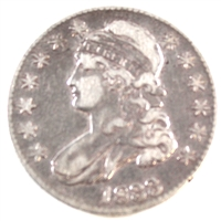 1833 USA Half Dollar VF-EF (VF-30)