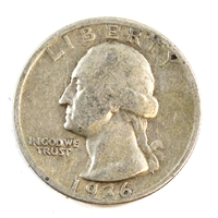 1936 S USA Quarter Circulated