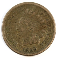 1859 USA Cent F-VF (F-15)