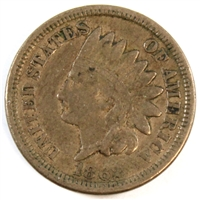 1862 USA Cent VF-EF (VF-30)