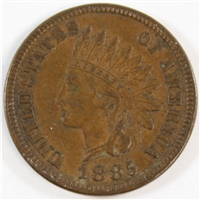 1885 USA Cent Almost Uncirculated (AU-50) $