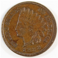 1888 USA Cent Almost Uncirculated (AU-50)
