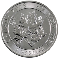 2019 1.5oz. Canada SuperLeaf .9999 Fine Silver
