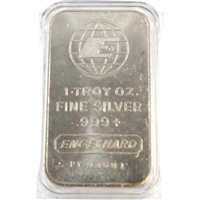 Engelhard 1oz. Fine Silver Bar (Tax Exempt)