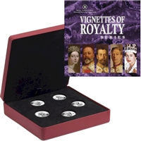 2008-2009 Canada $15 Vignettes of Royalty Sterling Silver 5-Coin Set