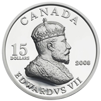 RDC 2008 Canada $15 Vignettes of Royalty Series - King Edward VII (#2) - Impaired