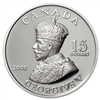 RDC 2008 Canada $15 Vignettes of Royalty - King George V Sterling Silver (Impaired)