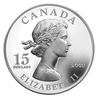 2009 Canada $15 Vignettes of Royalty Series - Queen Elizabeth II (#5)
