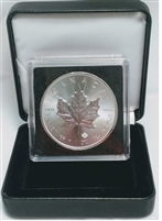 2018 Canada $5 1oz. Silver Maple Leaf in Display box & Capsule (No Tax)