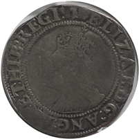 Great Britain 1558-1603 7th Issue Elizabeth I Shilling Fine (F-12)