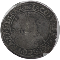 Great Britian 1603-1625 Thistle 2nd Bust James I Shilling Fine (F-12)