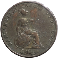 Great Britain 1853 1/2 Penny Very Fine (VF-20)