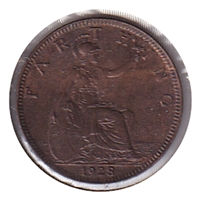 Great Britain 1928 Farthing Brilliant Uncirculated