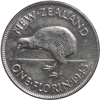 New Zealand 1943 Florin Extra Fine (EF-40)
