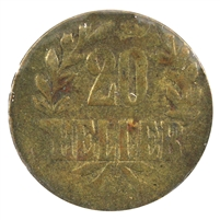 German Weimar Republic 1929E 1000th Ann. of Meissen 3 Mark AU (Cleaned)