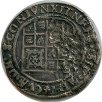 Great Britain 1619-25 6th Bust Tower Mint James I Shilling Very Fine (VF-20)