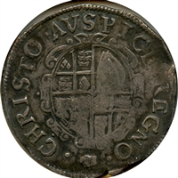 Great Britain 1625-42 Oval Shield Charles I Shilling Fine (F-12)