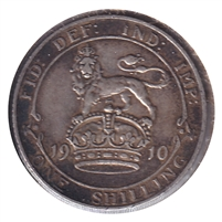 Great Britain 1910 Shilling VF-EF (VF-30)