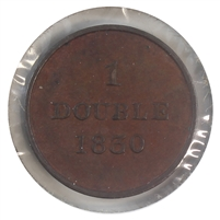 Guernsey 1830 Double Extra Fine (EF-40)