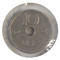 Norway 1926 10 Ore Almost Uncirculated (AU-50)