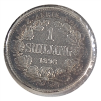 South Africa 1896 Shilling Very Fine (VF-20)