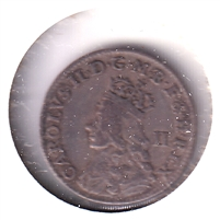Great Britain 1660-2 Charles II 2 Pence VF-EF (VF-30) $