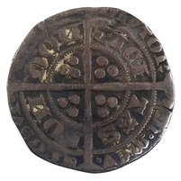 Great Britain 1369-1377 Edward III Groat VF-EF (VF-30) $