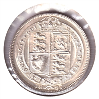 Great Britain 1886 6 Pence Uncirculated (MS-60) $