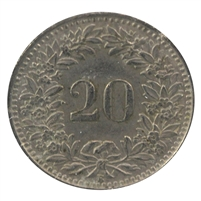 Switzerland 1939B 20 Rappen EF
