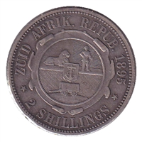 South Africa 1895 2 Shillings VF