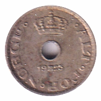 Norway 1925 10 Ore EF
