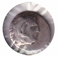 Macedonia 336-323BC Alexander III The Great Silver Dracham F-VF (F-15)