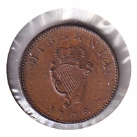Ireland 1806 Farthing Brilliant Uncirculated (MS-63)