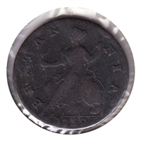 Great Britain 1730 1/2 Penny F (F-12)