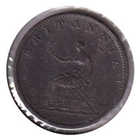 Great Britain 1807 1/2 Penny VF-EF (VF-30)
