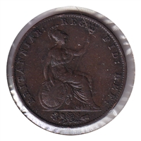 Great Britain 1854 1/2 Penny Very Fine (VF-20)