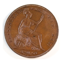 Great Britain 1854 Penny UNC+ (MS-62)